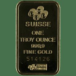 Gold Bars Back