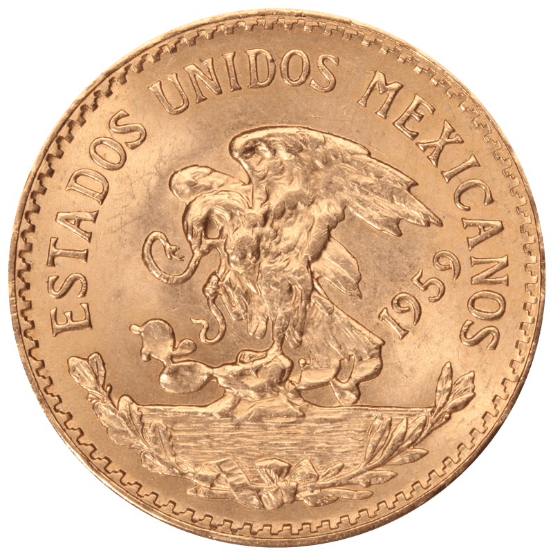 Mexican 20 Peso Front