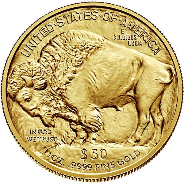 Gold American Buffalo  2020 Front