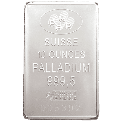 Palladium Bars Back