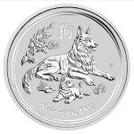 Silver Perth Lunar Dog 2018