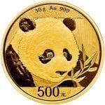 2018 Gold Panda 30g