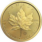 Canadian Maple Leaf - Gold 1oz- 2018