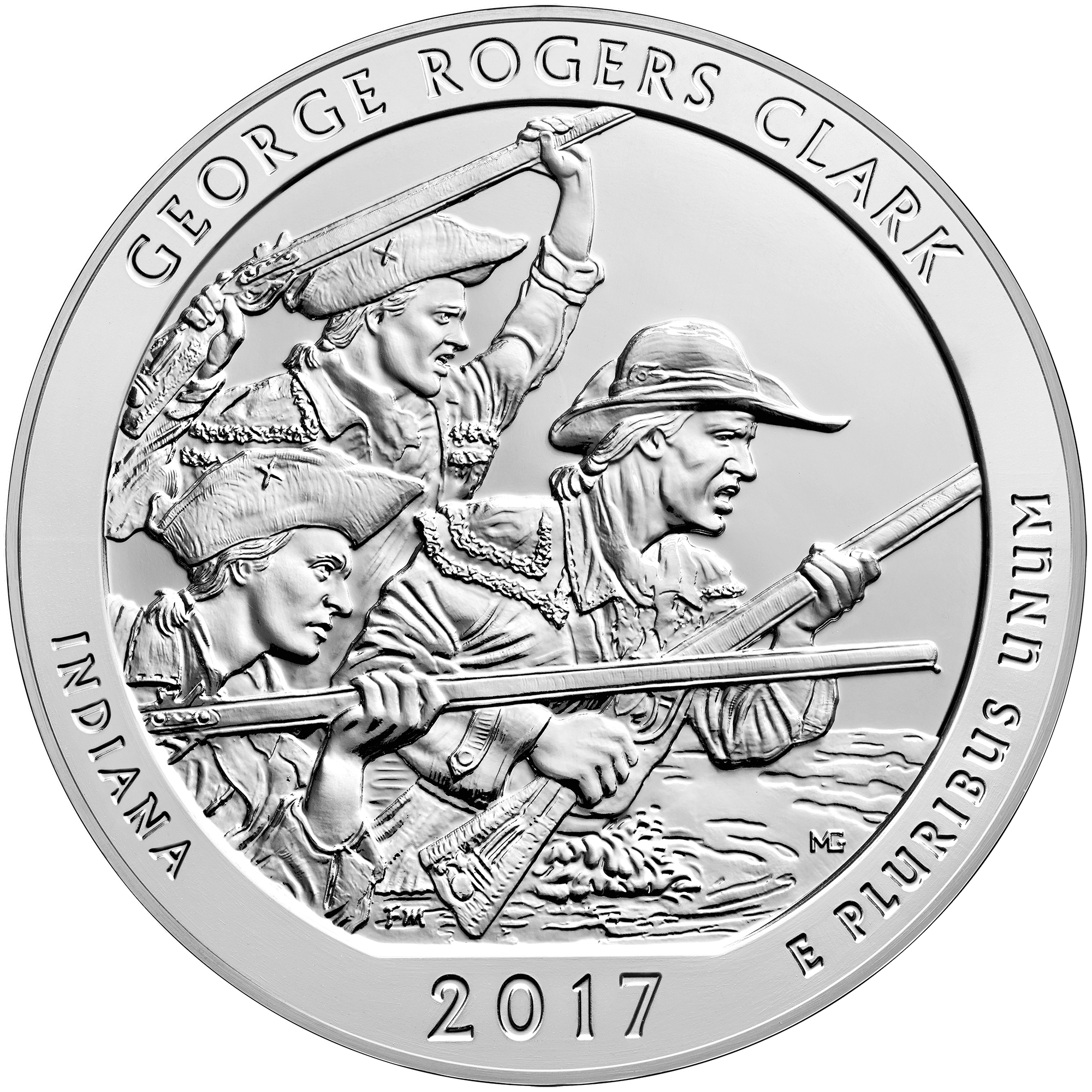 ATB Silver – George Rogers Clark Front