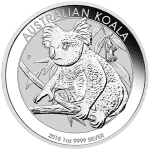 2018 Silver Koala Bullion from Perth Mint