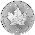Double-sided Incused Silver Maple Leaf from RCM