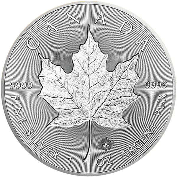 Incuse Maple Leaf Front