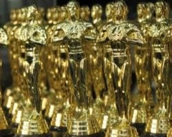 What would a solid gold Oscar be worth?