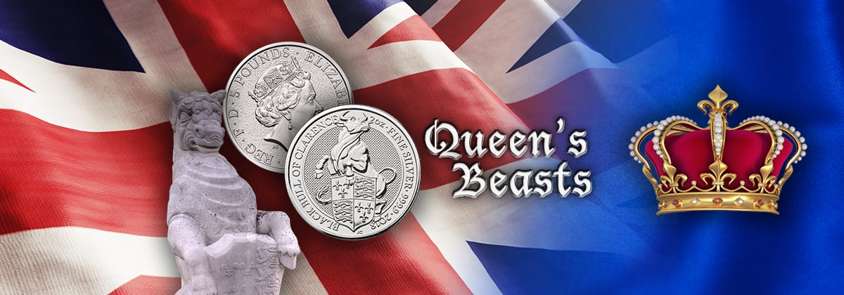Queen's Beast Silver - Black Bull of Clarence