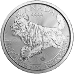 Royal Canadian Mint Predator Series - Wolf - Silver Bullion