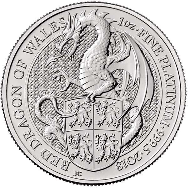 Red Dragon of Wales – Platinum Front