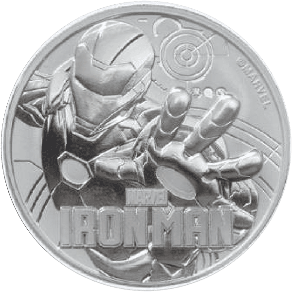 Ironman Silver Front