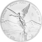 2 oz Silver Libertad from Mexico Mint