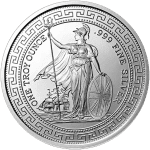 Silver British Trade Dollar