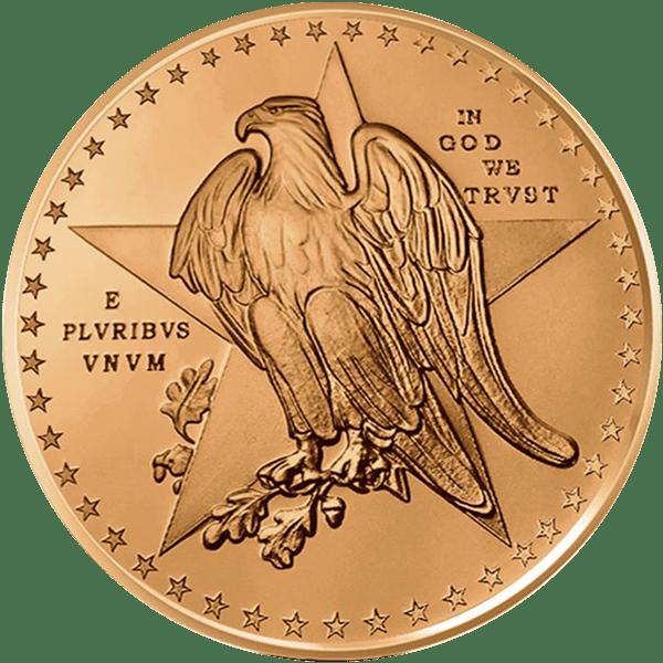 Texas Commemorative Copper Back