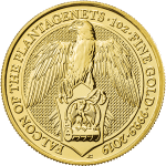 Gold Queen's Beast - Falcon of the Plantagenets
