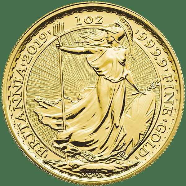 Gold Britannia 2019 Front