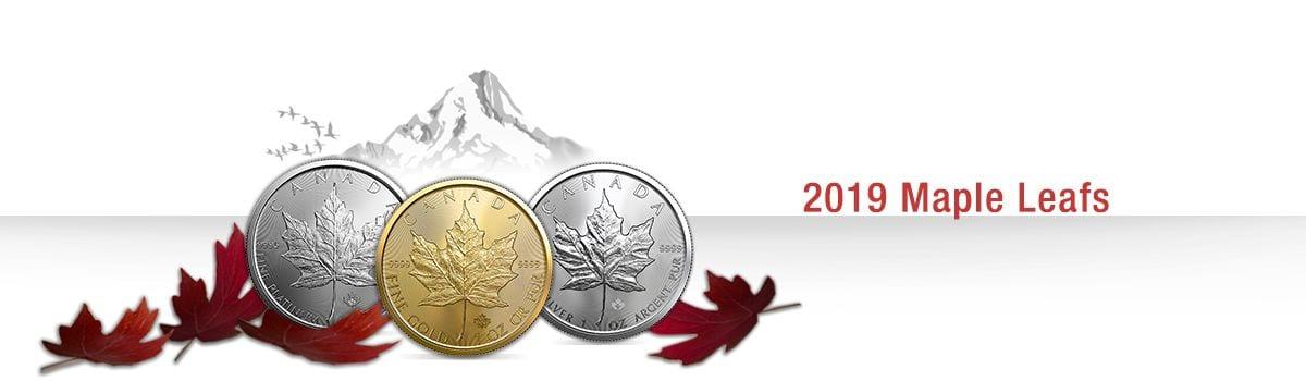 Canadian Maple Leaf Bullion 2019