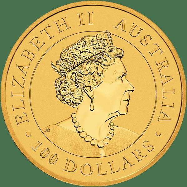2019 Gold Kangaroo Back
