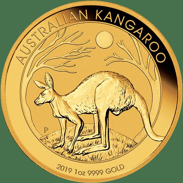2019 Gold Kangaroo Front