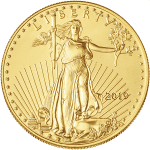 Gold American Eagle 2019