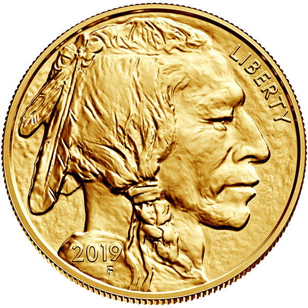 American Buffalo 2019 1 Ounce 24 K Gold Bullion