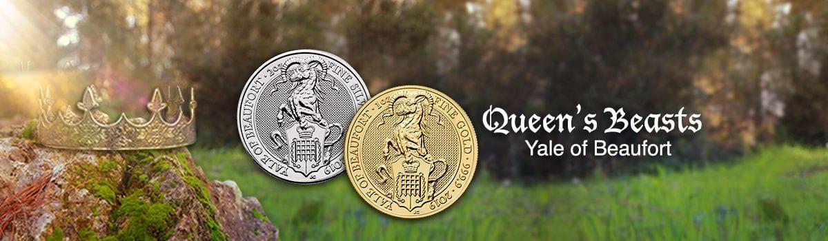 Yale Of Beaufort - Queen's Beast Bullion