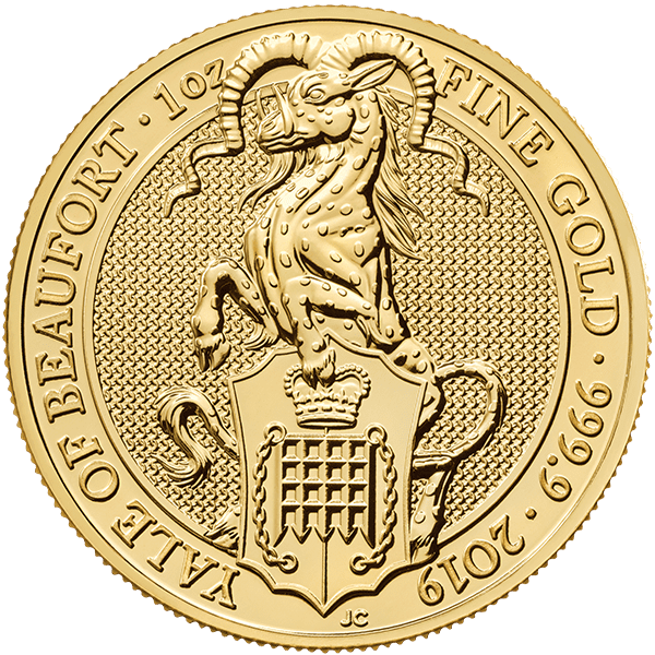 Gold Yale Of Beaufort Front