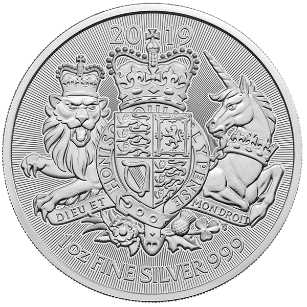 The Royal Arms Silver Front