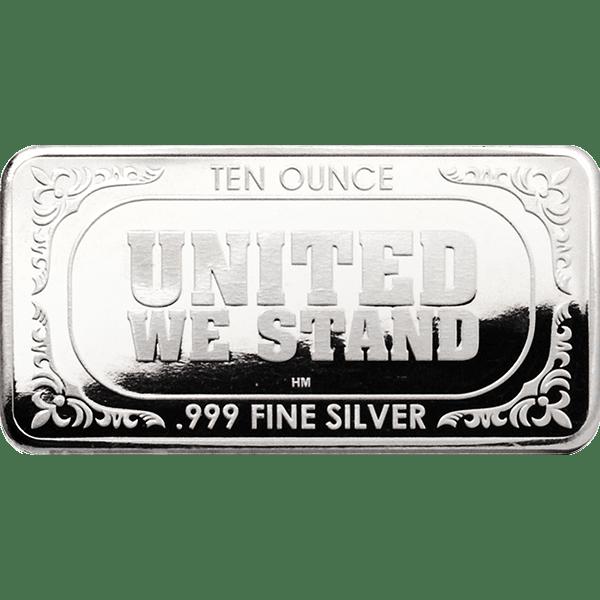 Silver Flag Bar Back