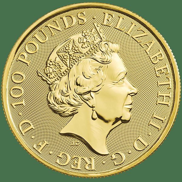 Gold White Lion of Mortimer Back