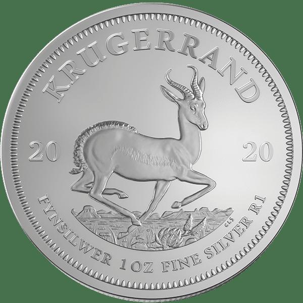 Silver Bullion Krugerrand Front