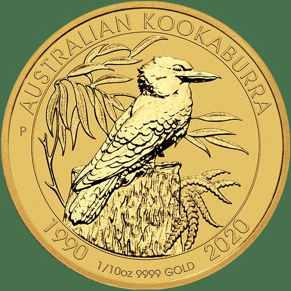 Gold Kookaburra Front