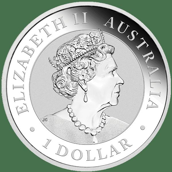 Koala Silver 2020 Bullion Back