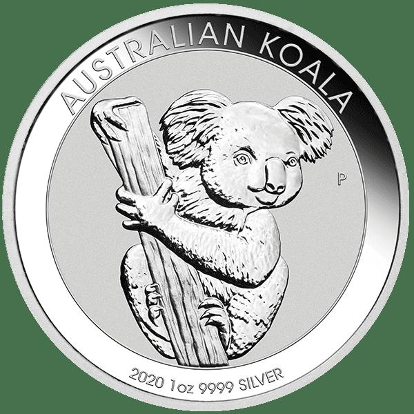 Koala Silver 2020 Bullion Front