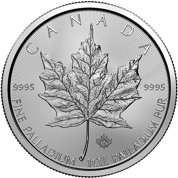 Palladium Maple Leaf Front