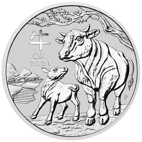 Perth Lunar 2021 Silver Front