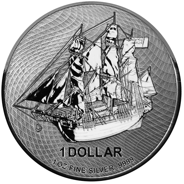 Cook Island Bounty Silver Front