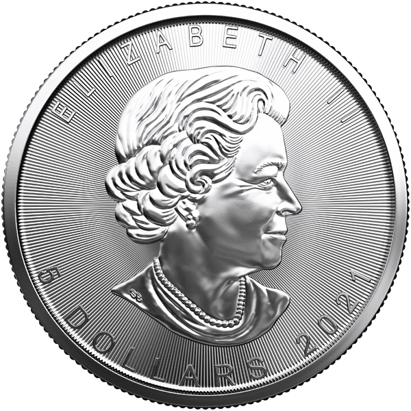 Canadian Silver Maple Leaf Back
