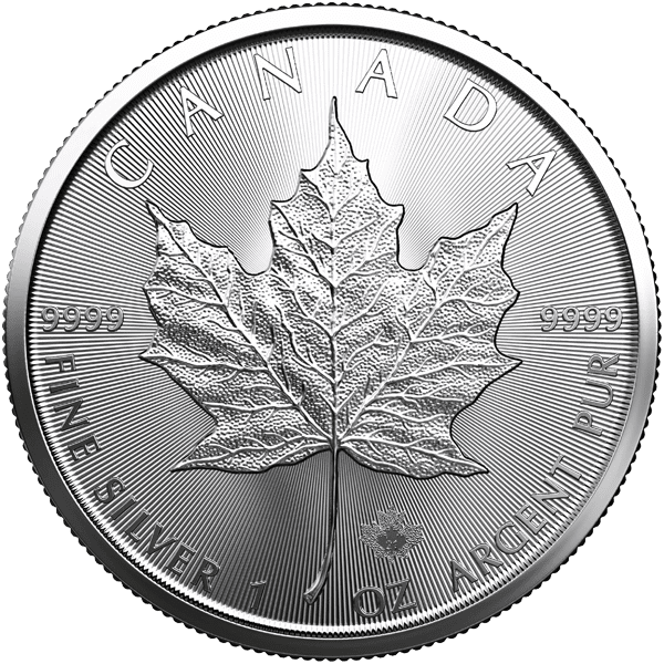 Canadian Silver Maple Leaf Front