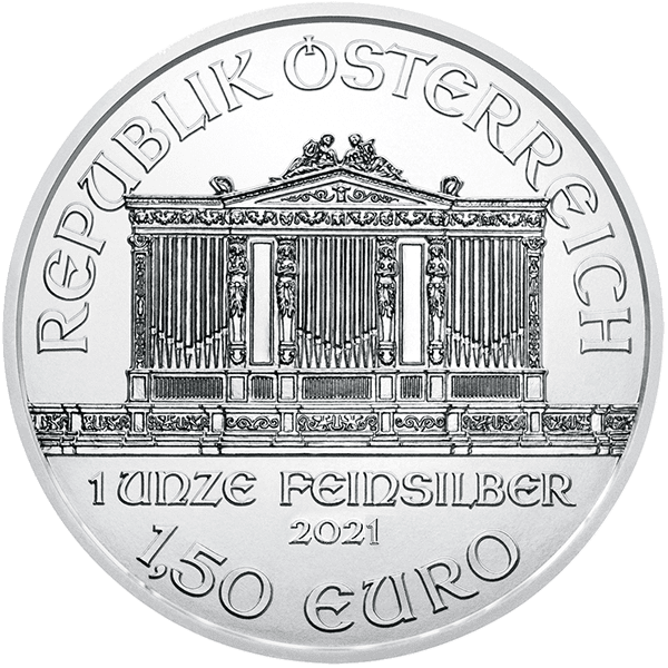 Silver Austrian Philharmonic Back