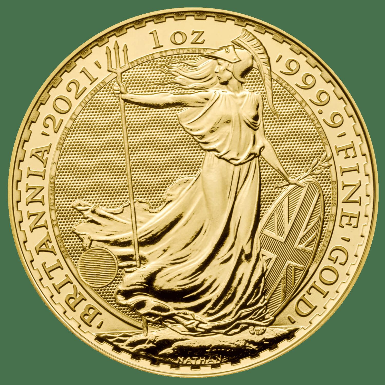 Gold Britannia 2021 Front