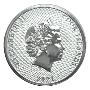 Cook Islands Bounty Silver Back