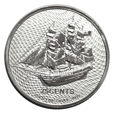 Cook Islands Bounty Silver Front