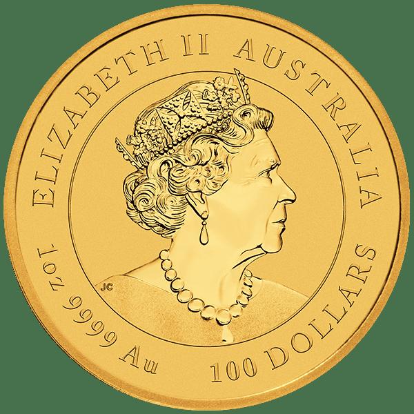 Perth Lunar 2022 Gold Back